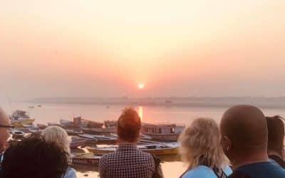 Napfelkelte Varanasiban