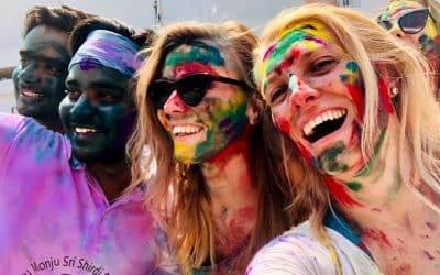 A Holi fesztivál Indiában
